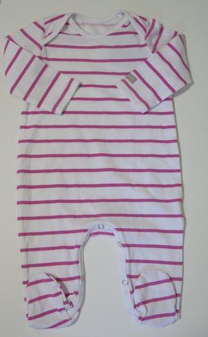 PURE CHILD PURPLE STRIPED STRETCHY