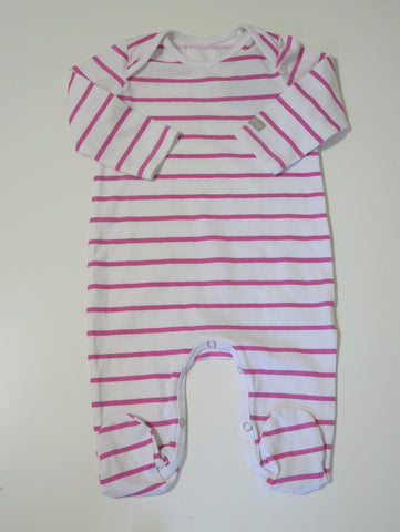 PURE CHILD PINK STRIPED STRETCHY