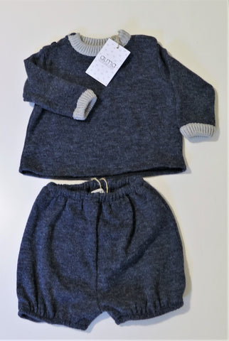 Alma Llenas Dressy Navy Sweater & Bloomers