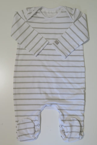 Pure Child natural & white striped stretchy