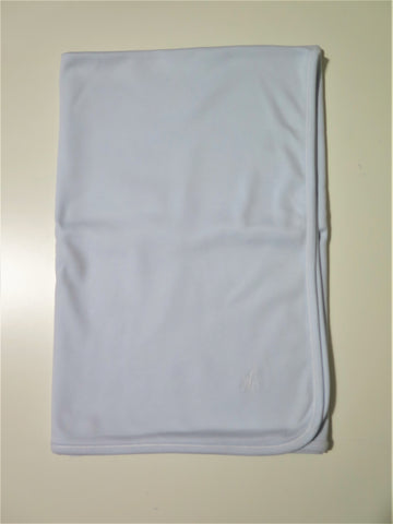 Laranjinha light blue blanket