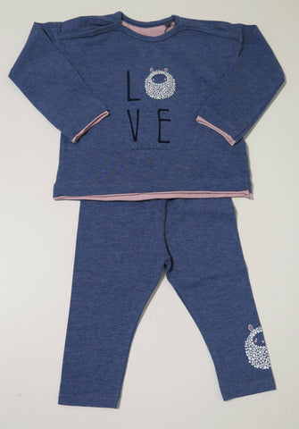 Bellybutton Chambray LOVE 2 pc set