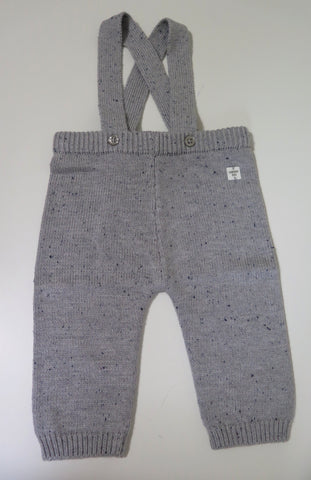 Carrement Beau grey knit overalls