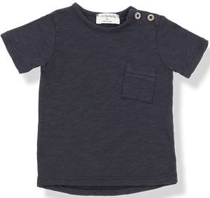 1+IN THE FAMILY NAVY SHORT SLEEVE 2 PIECE SET