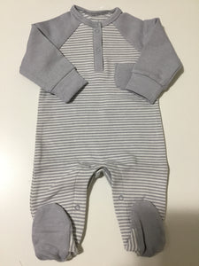 Hide n Seek blue/grey striped stretchy
