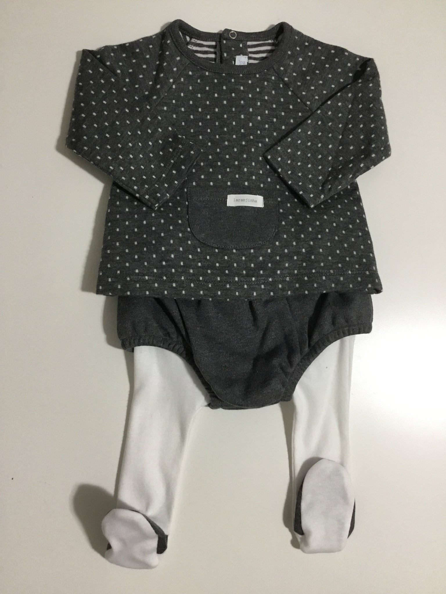 Laranjinha 2 piece set