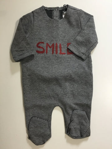 Eccomi grey striped smile stretchy