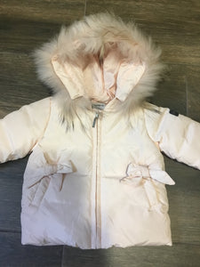 Pramie pink girls coat