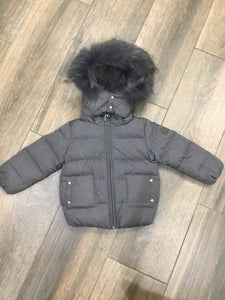 Pramie boys grey coat