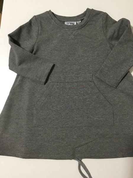 Crew kids grey dress