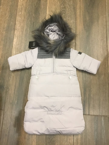 Pramie grey snowsuit