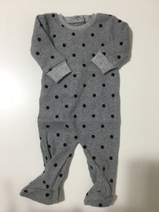 Tugg grey velvet dot stretchy