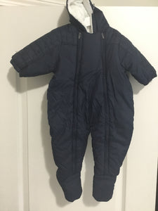 Carrement Beau navy snow suit