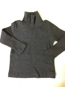 Crew kids charcoal ribbed turtleneck