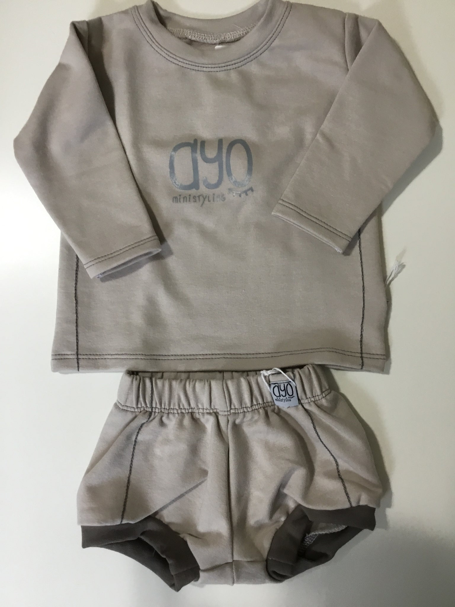 Dyo top & bloomers
