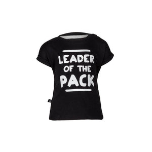 NOESER BLACK LEADER OF THE PACK T-SHIRT & LEGGINGS