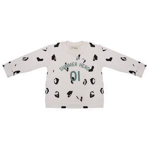 LITTLE INDIANS SUMMER HERO 01 SWEATSHIRT