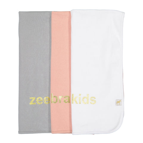 ZEEBRA KIDS RIBBED BLANKET