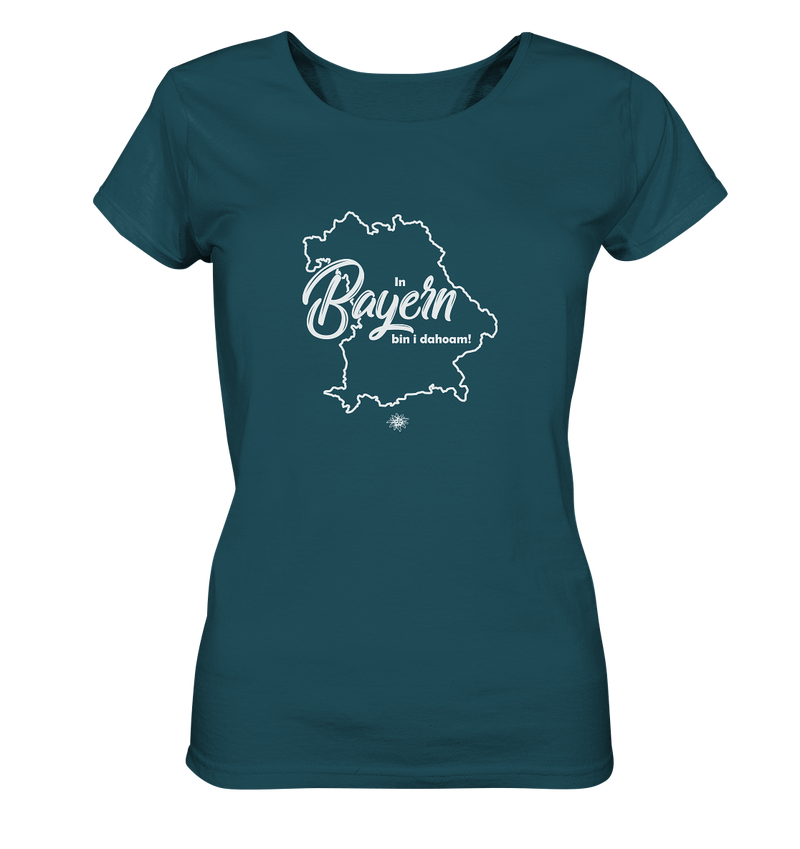 In Bayern bin i dahoam - Ladies Organic Shirt