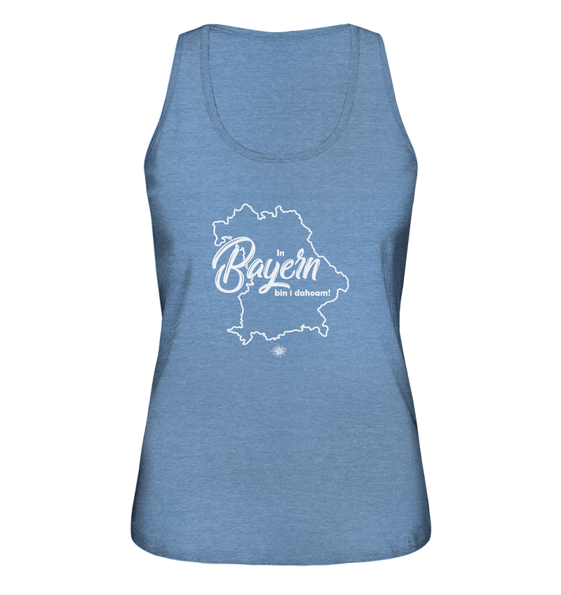 In Bayern bin i dahoam - Ladies Organic Tank-Top