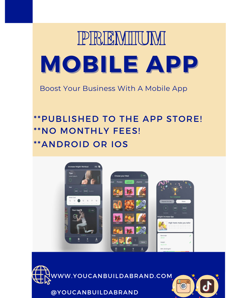 Android or ios App For Your Business