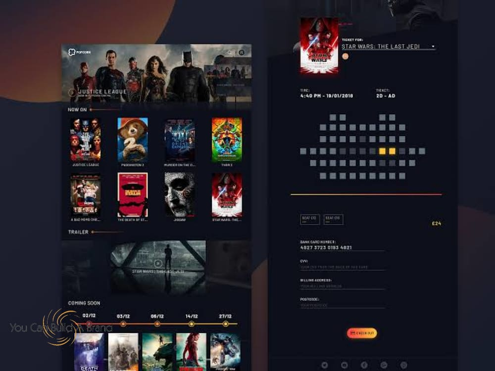 Movie Streaming Website