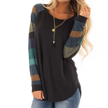 Women Stripe Long Sleeves
