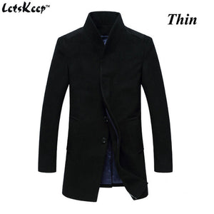 MEN New Winter Woolen Slim Fit