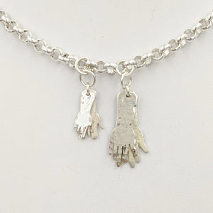 Helping Hands or Prayerful Pendants - Dragon Paws