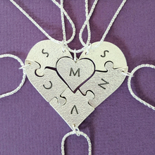 Load image into Gallery viewer, Bridesmaid Heart Puzzle Set
