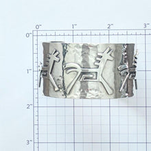 Load image into Gallery viewer, Horse Petroglyph Cuff Bracelet  - One Of a Kind