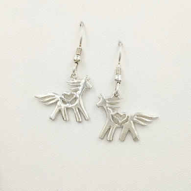 Passion or Spirit Horse Earrings