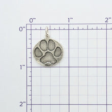 Load image into Gallery viewer, Puppy Dog Paw Print Pendant