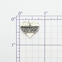 Load image into Gallery viewer, Fancy Heart Pendant or Charm