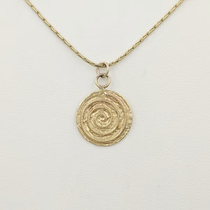 Spiral of Life Pendant or Charm