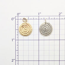 Load image into Gallery viewer, Spiral of Life Pendant or Charm