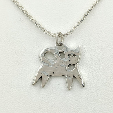 Kitty Cat Pendant or Charm