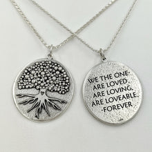 Load image into Gallery viewer, Affirmation Tree Coins- Reversible