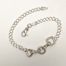 Load image into Gallery viewer, Karma ID Bracelet - Sterling Silver