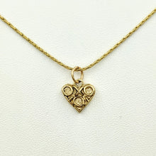 Load image into Gallery viewer, Hugs and Kisses Heart Pendant or Charm