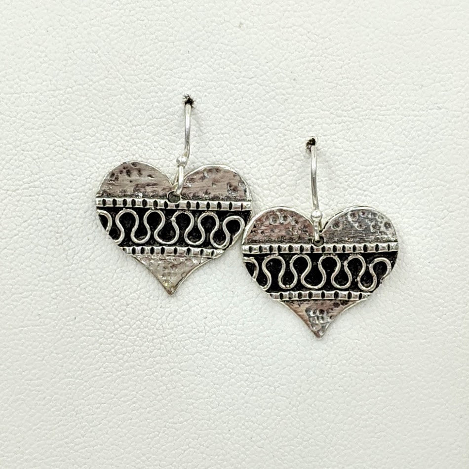 Fancy Heart Earrings