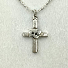 Load image into Gallery viewer, Cross with Symbolic Icons - Sterling Silver