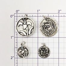 Load image into Gallery viewer, Lily and Thorns Reversible Pendant or Charm