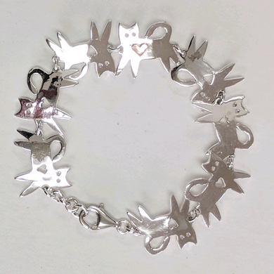 Kitty Cat Link Bracelet
