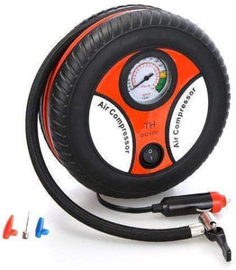 Automatic Car Air Compressor - 12V