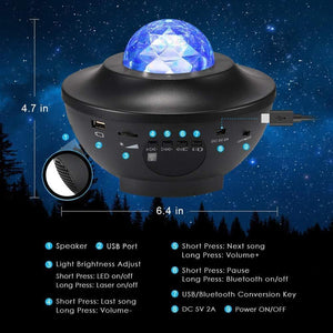 Sky Bright Star Projector