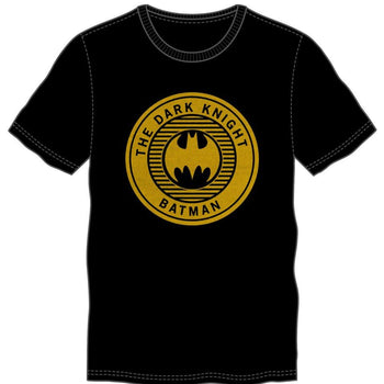 The Dark Knight Batman Seal Black T-Shirt