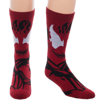 Marvel Carnage Symbiote Suit Socks