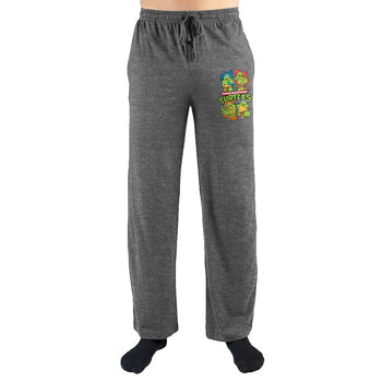 Teenage Mutant Ninja Turtles TMNT Print Men's Loungewear Lounge Pants