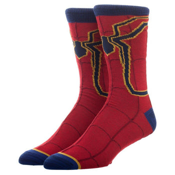 Spiderman Print Athletic Crew Sock
